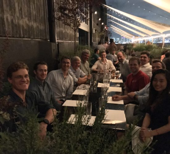 New York OJ dinner 24 July 2018